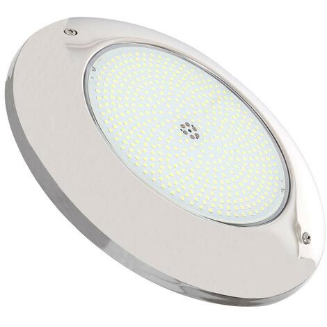Foco Piscina LED Superficie Inox 6000K 12V AC/DC 35W