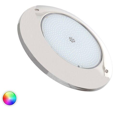 Foco Piscina LED Superficie RGB 12V AC Acero Inoxidable 35W RGB - RGB
