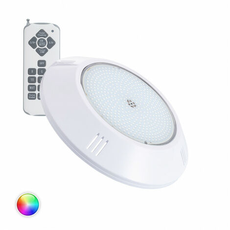 Foco Piscina LED Superficie RGB 35W PC RGB . - RGB