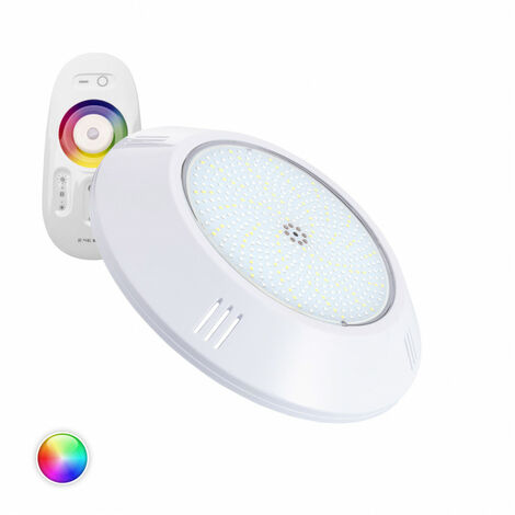 Foco Piscina LED Superficie RGBW 12V DC 35W RGBW