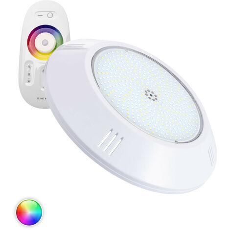 Foco Piscina LED Superficie RGBW 12V DC 35W RGBW - RGBW