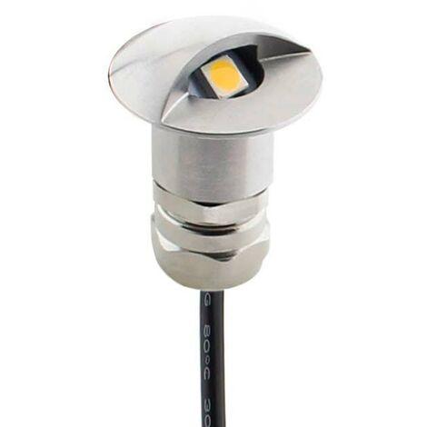 Foco POD LED 1W, IP67 Acero inox