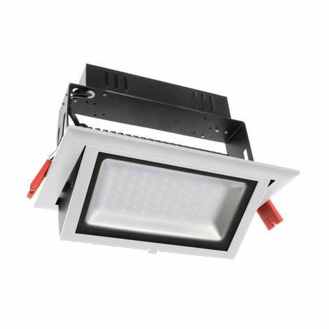 Foco Proyector Direccionable Rectangular Design LED 28W SAMSUNG 120lm/W LIFUD Blanco Frío 5500K .No Regulable - Blanco Frío 5500K No Regulable