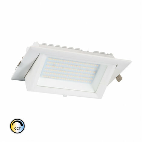 Foco Proyector Direccionable Rectangular LED 38W SAMSUNG 130 lm/W CCT LIFUD Seleccionable (Cálido-Neutro-Frío) . - Seleccionable (Cálido-Neutro-Frío)