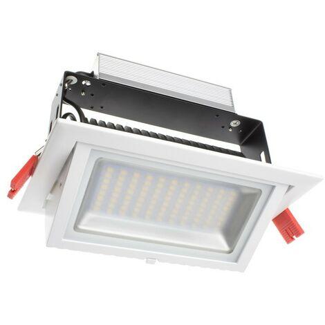 Foco Proyector Direccionable Rectangular LED 48W SAMSUNG 120 lm/W Direccionable Rectangular LIFUD Blanco Neutro 4000K .No Regulable - Blanco Neutro 4000K No Regulable