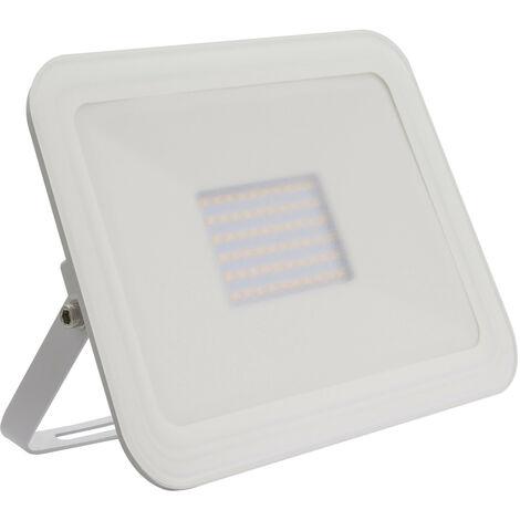 Foco Proyector LED 100W Slim Cristal Blanco