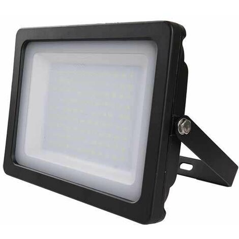 Foco proyector led 100W SMD 100° Super Slim Serie Shiny Blanco