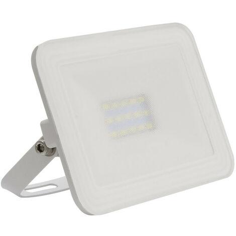 Foco Proyector LED 10W Slim Cristal Blanco