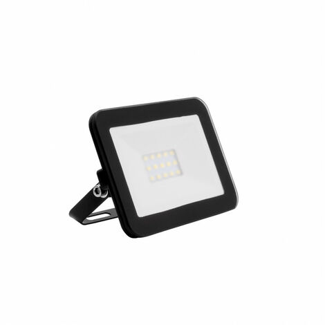 Foco Proyector LED 10W Slim Cristal Negro