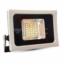 Foco proyector LED 10W SMD 100° Super Slim Serie Shiny Gris/Negro