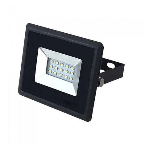 Foco Proyector LED 10W SMD 110° E Series Negro Color - Verde
