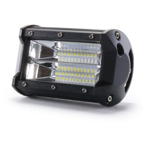 Foco Proyector LED 72W 10-30V DC IP67 para Coches, Barcos, Caravanas, Máquinas, Campings Blanco Frío 6000K | IluminaShop