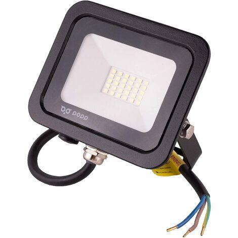 "main image of ""Foco Proyector LED Blanco Exterior Floodlight 30W 2400Lm 6000K 159x122x23 IP65 180-265V AVANCE LED"""