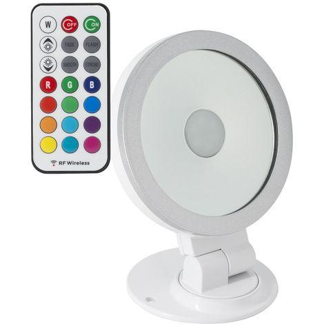 Foco Proyector LED Direccionable 360º RGB 10W Blanco RGB