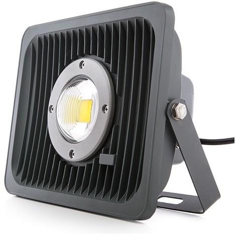 Foco Proyector LED IP65 Ángulo Reducido 50W 4000Lm 30.000H | Blanco Natural (MG-PLAR50W-W)