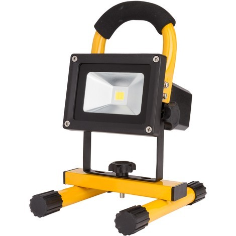 Foco Proyector LED IP65 Batería Recargable 10W 1000Lm 30.000H | Blanco Natural (UPL-FL10W)