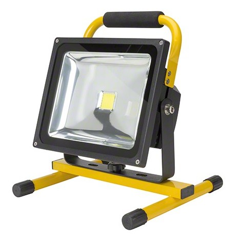 Foco Proyector LED IP65 Batería Recargable 30W 3000Lm 30.000H | Blanco Natural (UPL-FL30W)