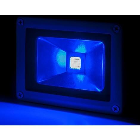 Foco Proyector LED IP65 Brico 10W 850Lm 30.000H Azul | Azul (BQFS11510B)