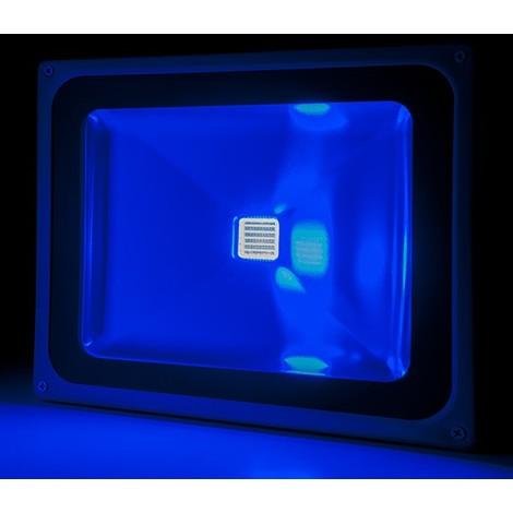 Foco Proyector LED IP65 Brico 50W 4250Lm 30.000H Azul | Azul (BQFS29050B)