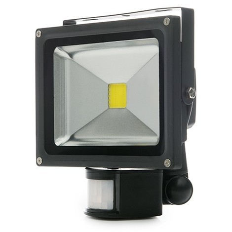 Foco Proyector LED IP65 Detector Movimiento 20W 1800Lm 30.000H | Blanco Natural (BQFS22520W-PIR)