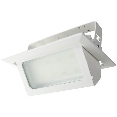 Foco Proyector LED Nomis Rectangular Basculante 36W CCT Seleccionable 3000+4000+6000 | IluminaShop