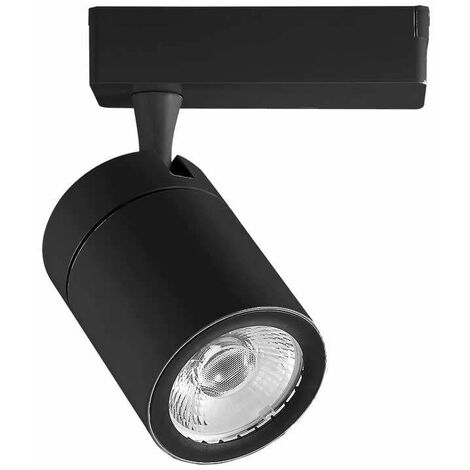 Foco Proyector LED para Carril de 4 Núcleos Smart 35W 24° Negro