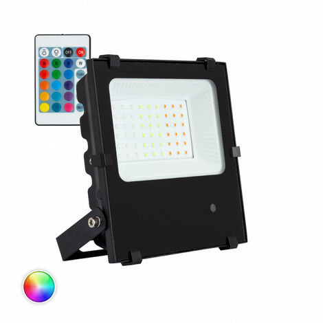 Foco Proyector LED RGB 30W 135lm/W HE PRO Regulable RGB