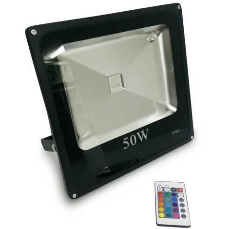Foco proyector LED RGB 50W IP65 | RGB