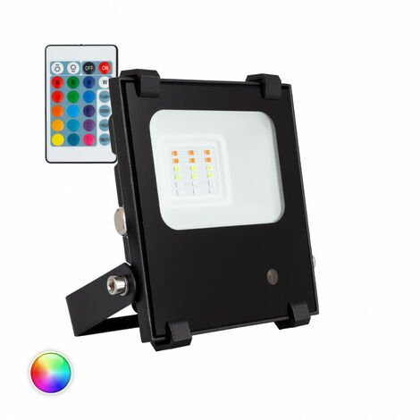 Foco Proyector LED RGBWW 10W 135lm/W HE PRO Regulable RGB