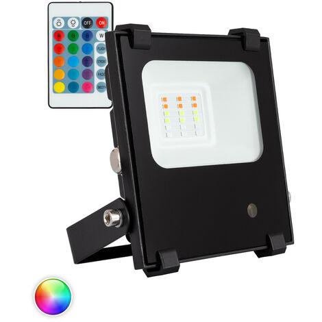 Foco Proyector LED RGBWW 10W 135lm/W HE PRO Regulable RGBWW