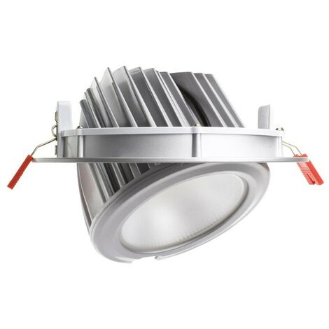 Foco Proyector LED SAMSUNG 120lm/W Direccionable Circular Plata 60W LIFUD