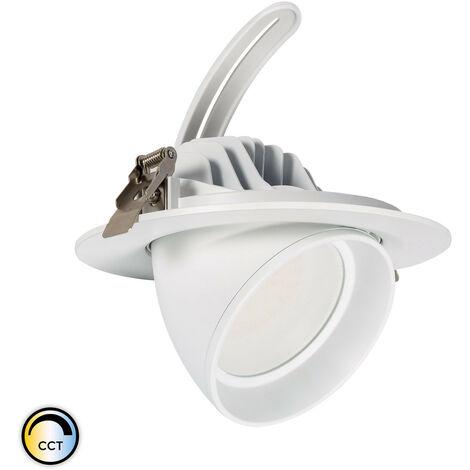 Foco Proyector LED SAMSUNG 125 lm/W Direccionable Circular 38W CCT Seleccionable LIFUD Seleccionable (Cálido-Neutro-Frío)