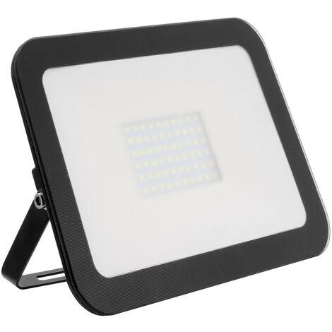 Foco Proyector LED Slim Cristal 100W Negro