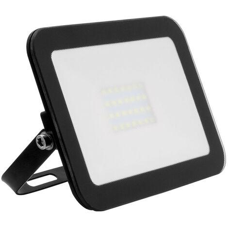 Foco Proyector LED Slim Cristal 20W Negro