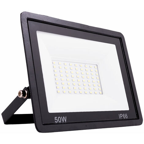 Foco Proyector LED SMD Regulable 50W 4000Lm IP66 50000H [LM-6007-CW] | Blanco Frío (LM-6007-CW)