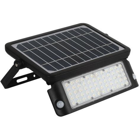 """main image of """"Foco Proyector LED Solar 10W IP65 con Sensor de Movimiento PIR y Crepuscular Blanco Neutro 4000K - Blanco Neutro 4000K"""""""