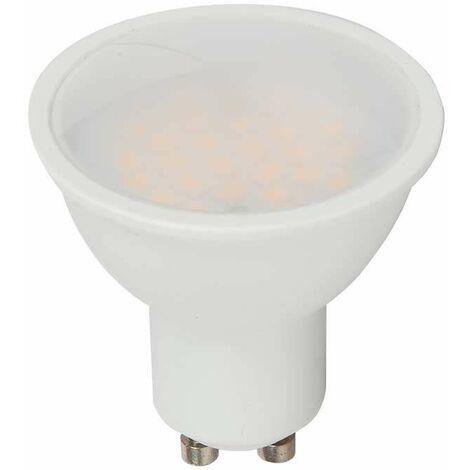 Foco reflector medio de luz LED 5 vatios 400 lúmenes lámpara blanca cálida EEK A + GU10 Vtac 1685