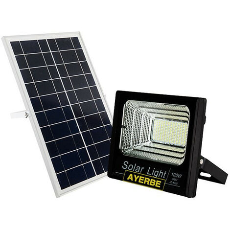 Foco Solar C/Mando 120 Leds 100 W - AYERBE - 620645