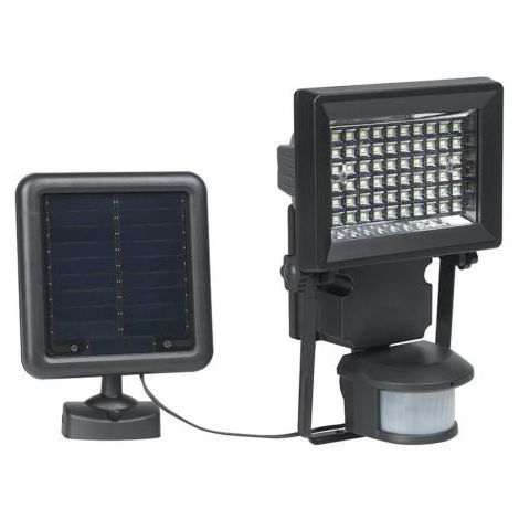 Foco solar con sensor movimiento color negro duracell - talla