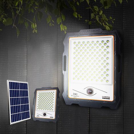 """main image of """"Foco solar LED con cámara wi-fi de 300W, panel solar de 3000 lúmenes Conspicio L"""""""