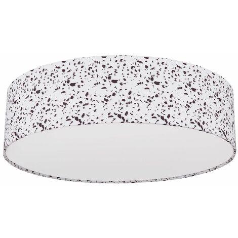 Focos de techo blanco comedor salón iluminación diseño cocina lámpara mosaico óptica Globo 15353M