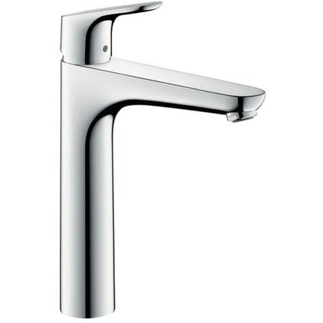 Focus 190 Mitigeur lavabo sans tirette ni vidage chromé