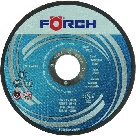 FÖRCH Trennscheiben Stahl/Inox, 230x2,0x22,2