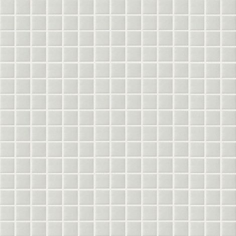 "main image of ""Foglio di mosaico in pasta di vetro Basic neve Spazio 32 7 X 32 7 cm"""