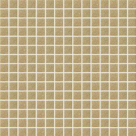 """main image of """"Foglio di mosaico in pasta di vetro Basic sabbia Spazio 32 7 X 32 7 cm"""""""