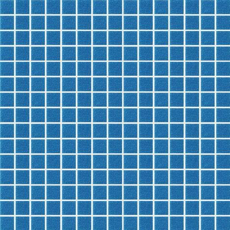 """main image of """"Foglio di mosaico in pasta di vetro retrocolorato Basic oceano Spazio 32 7 X 32 7 cm"""""""