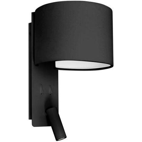 FOLD Lampe applique blanche avec lecteur LED de NUT CREATIVE