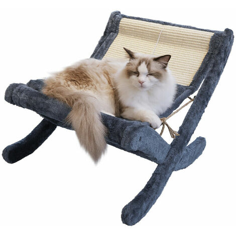 Fold Pet Dog Cat Sleeping Bed Kitten Elevated Soft Plush Lying Hammock Cushion - Different colours