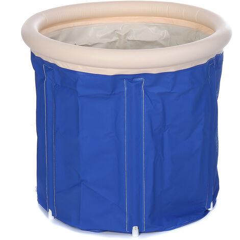 Foldable Bathtub Portable Bathtub Spa Inflatable Bathtub 70x70CM