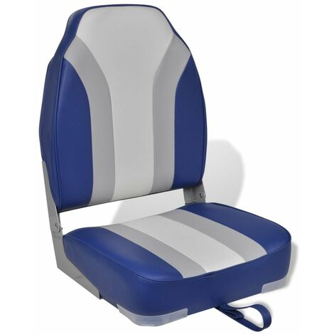 Foldable Boat Chair High Backrest VDTD32141